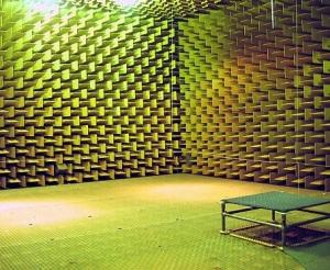 Anechoic Chamber, DTU - Denmark, © Baarnaud-Dessein